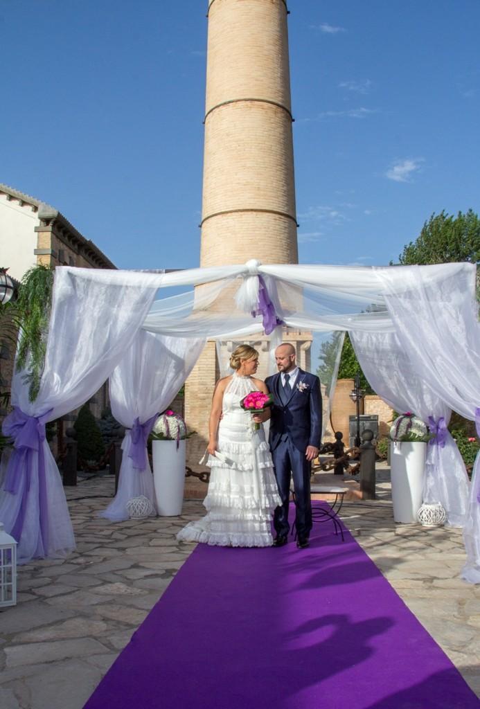 decoracion exterior boda civil valdes pastor vestidos de novia benejama