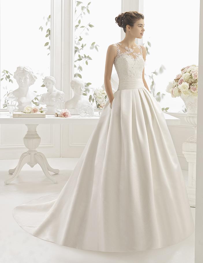 vestido novia costura