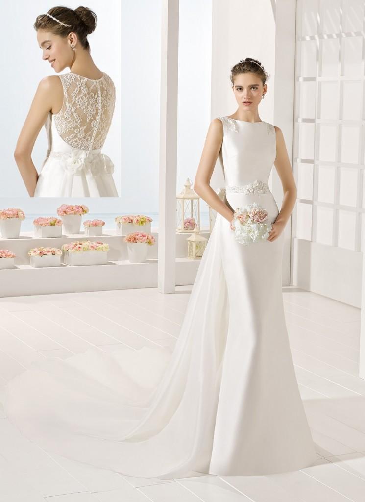 vestido de novia en valdes pastor