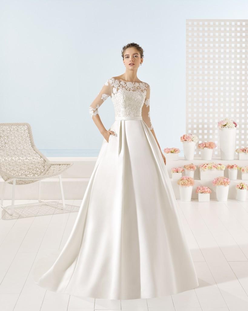 yuri vestido de novia en beneixama Valdes pastor