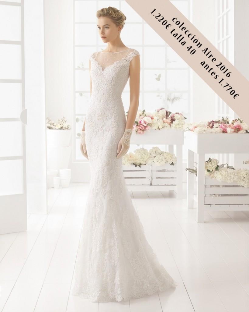 MALDIVAS aire barcelona vestido novia outlet