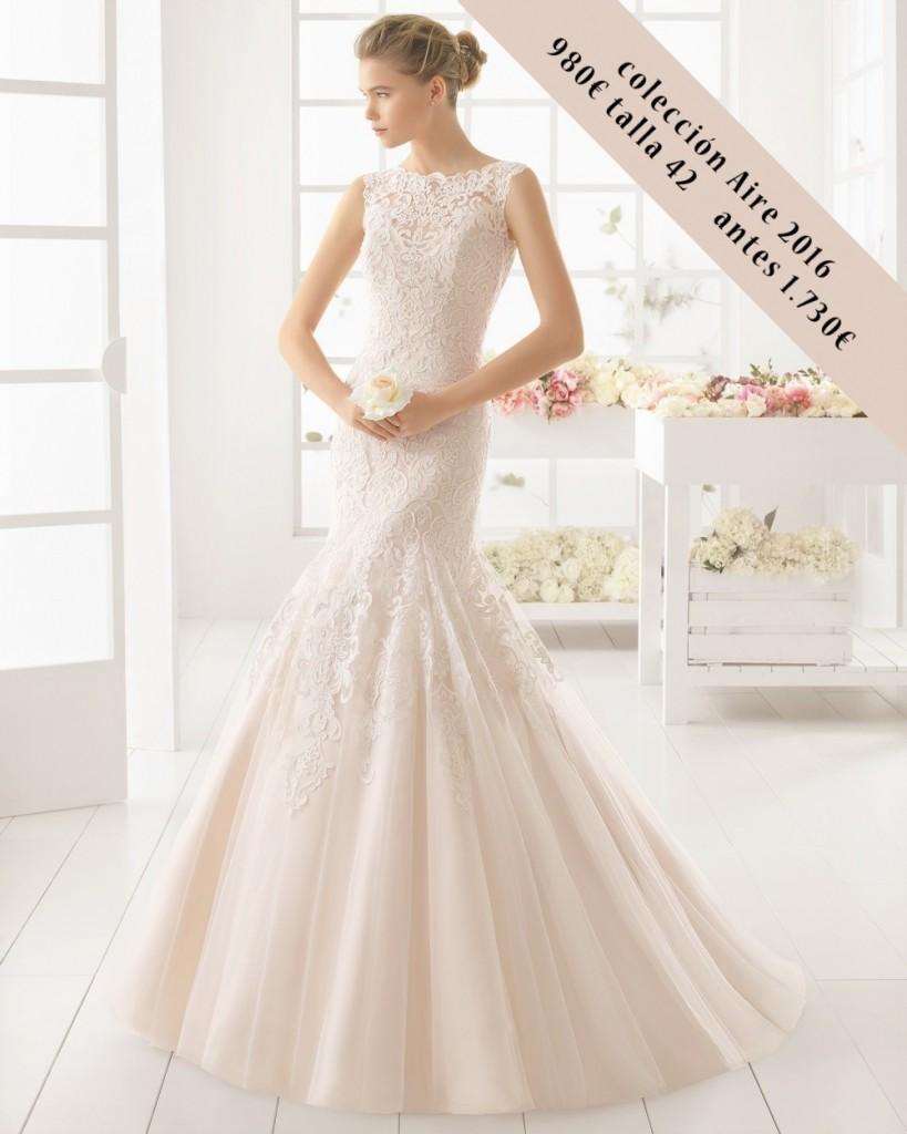 MATILDE vestido novia outlet de Aire