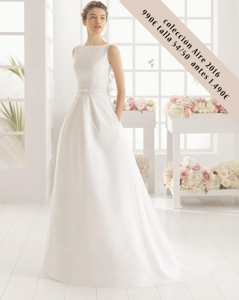 MIA vestido novia Aire precio outlet