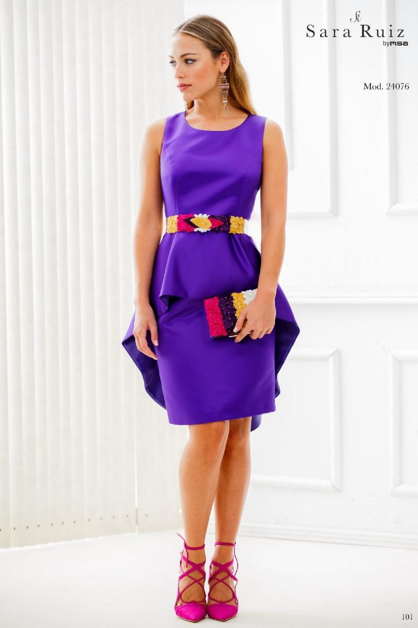 24076 Sara Ruiz vestidos de fiesta | Valdespastor