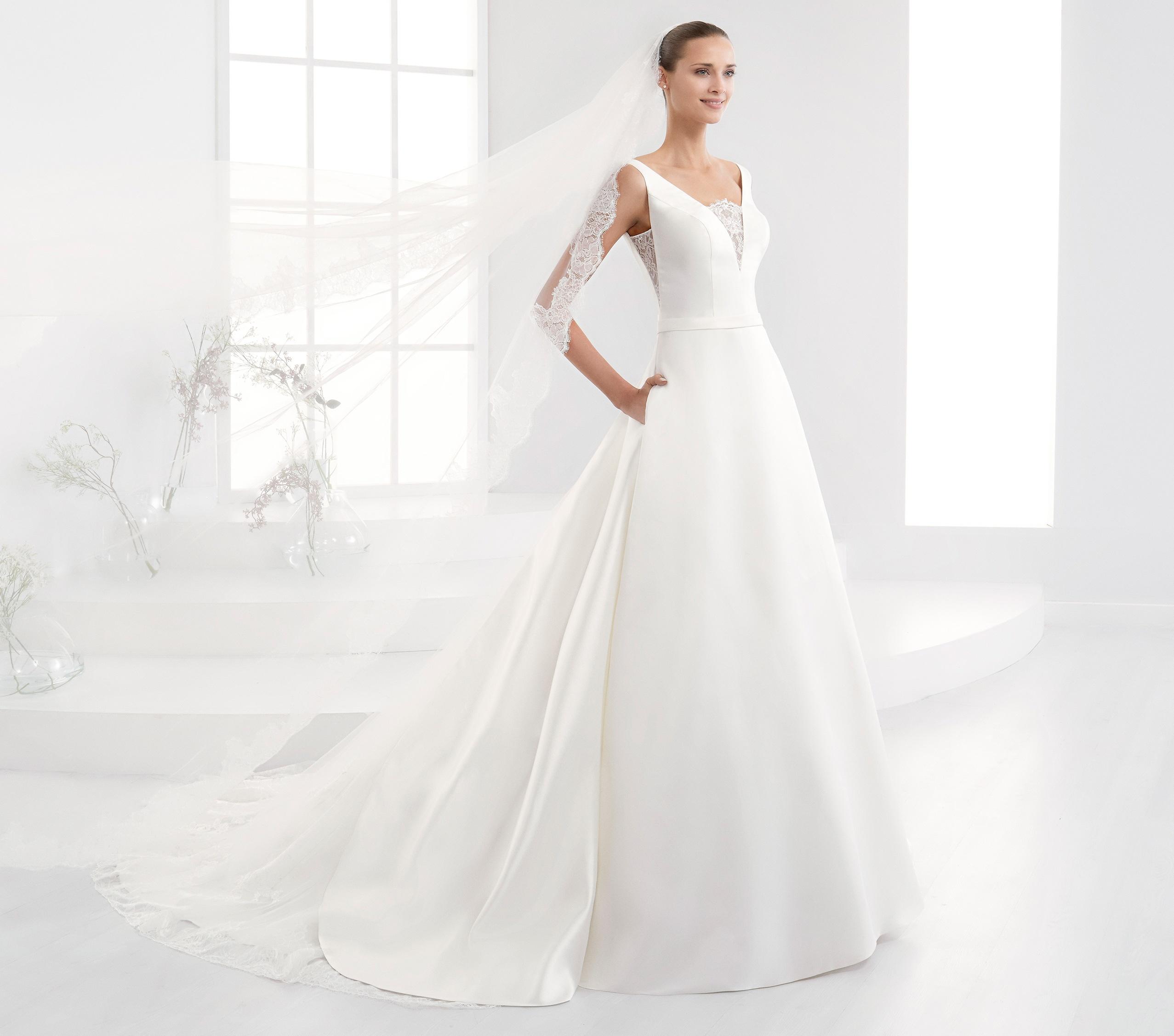 Vestido de novia de nicole