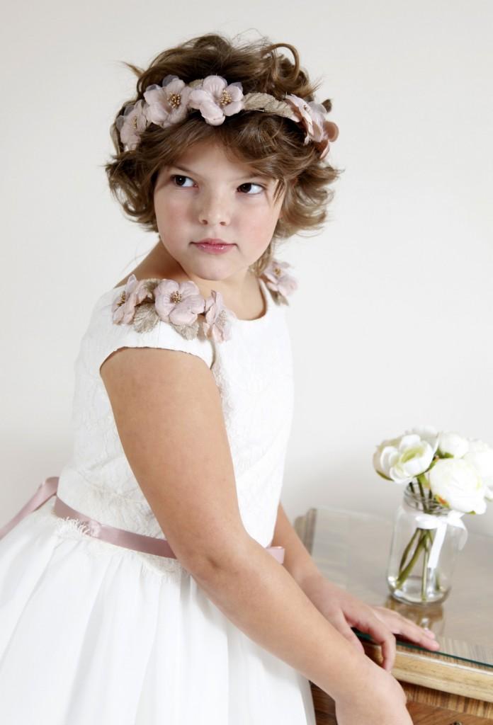 vestido de comunión a medida