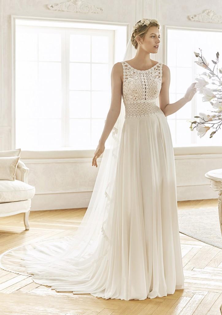 3e65df6d42 Vestidos de novia La Sposa y St. Patrick Studio 2019