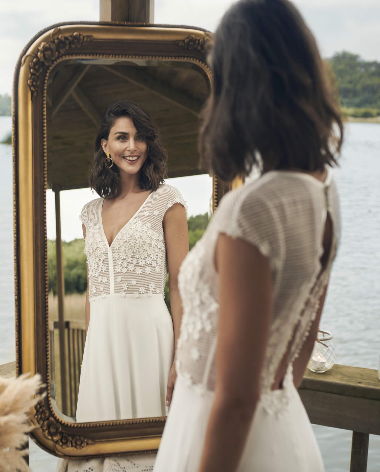 Vestidos novia bohemios valencia