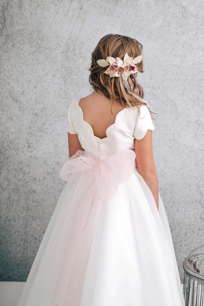 vestido de comunion bonito