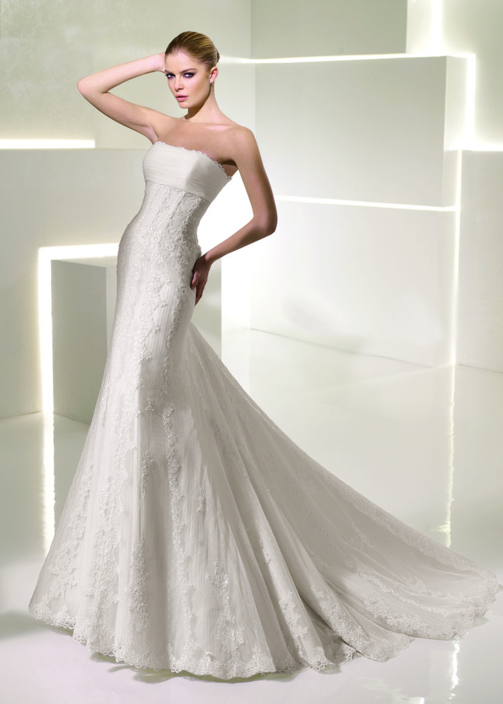outlet vestido de novia barato la sposa
