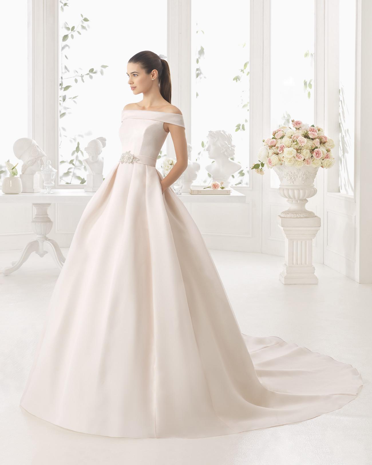 vestido de novia costura