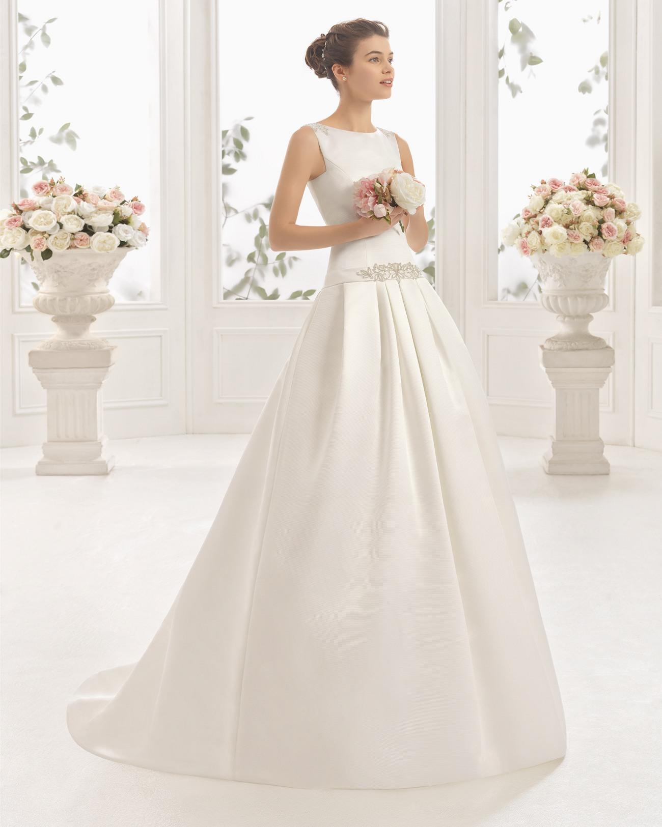 vestido de novia clásico de otoman