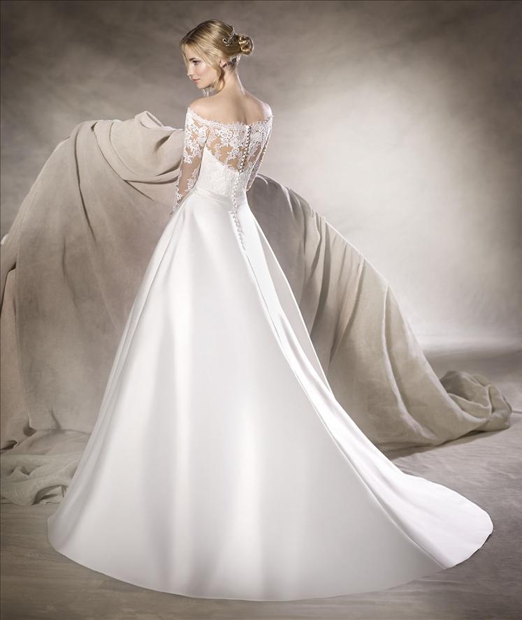 vestido de novia la spoisa
