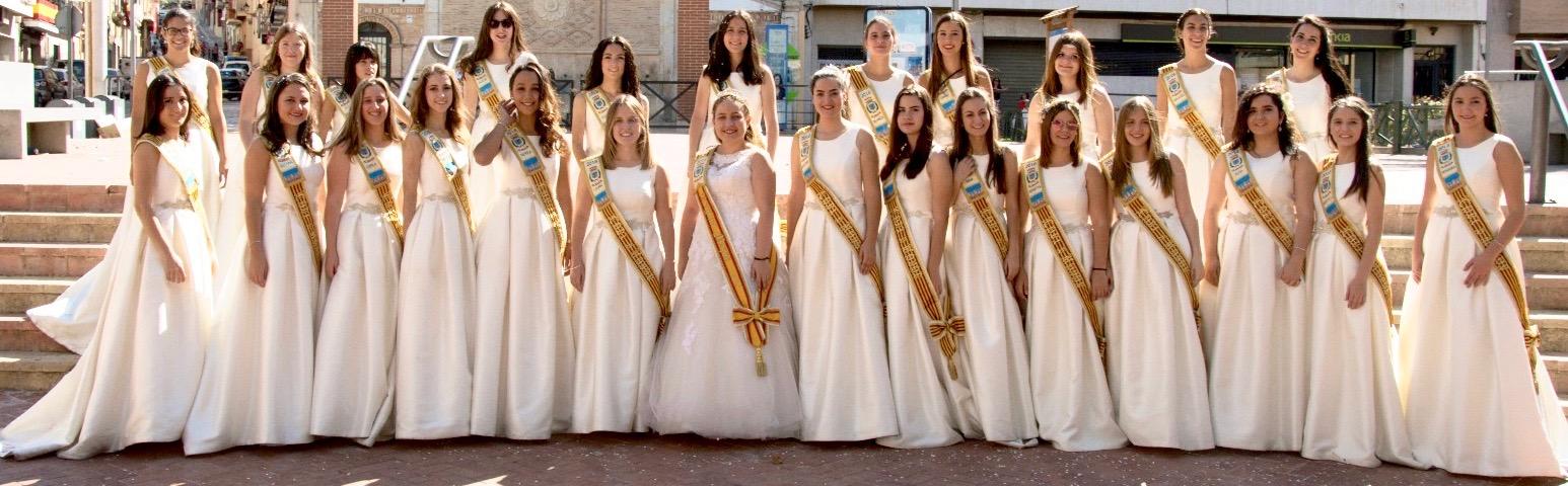 trajes de festeres, dames albaida