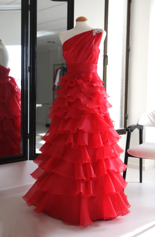 vestido de festera o dama
