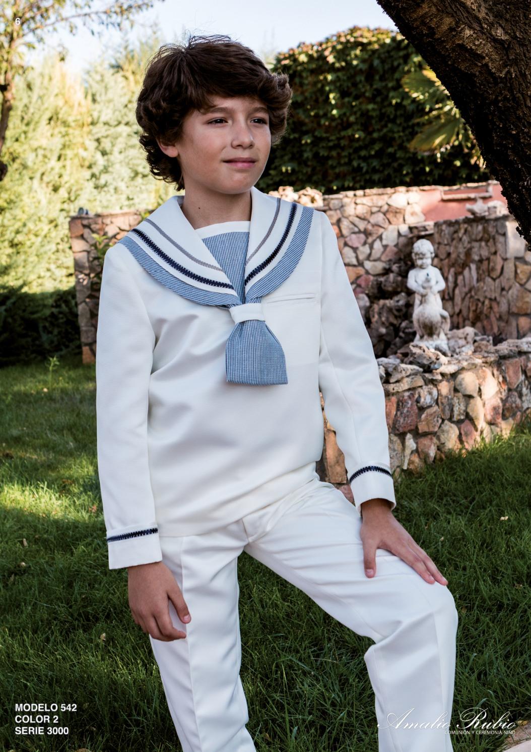 marinero para primera comunión 542 Amalio Rubio