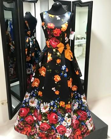 1251 vestido estampado