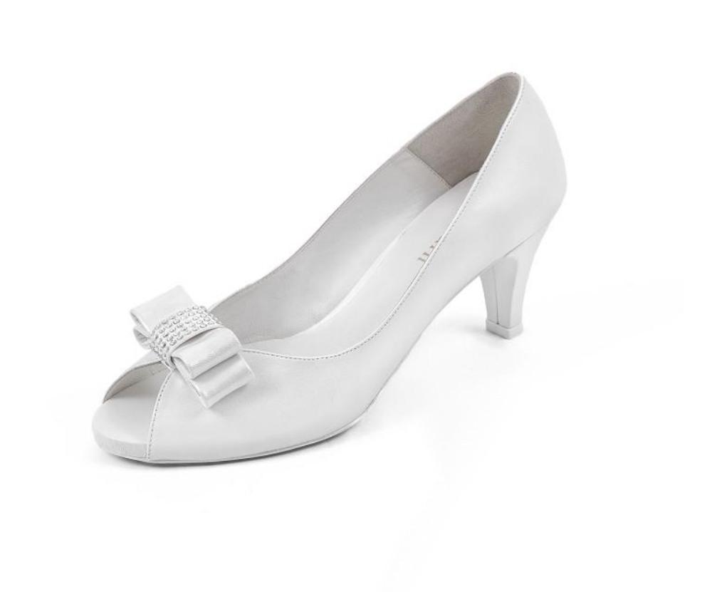 zapatos de novia en piel