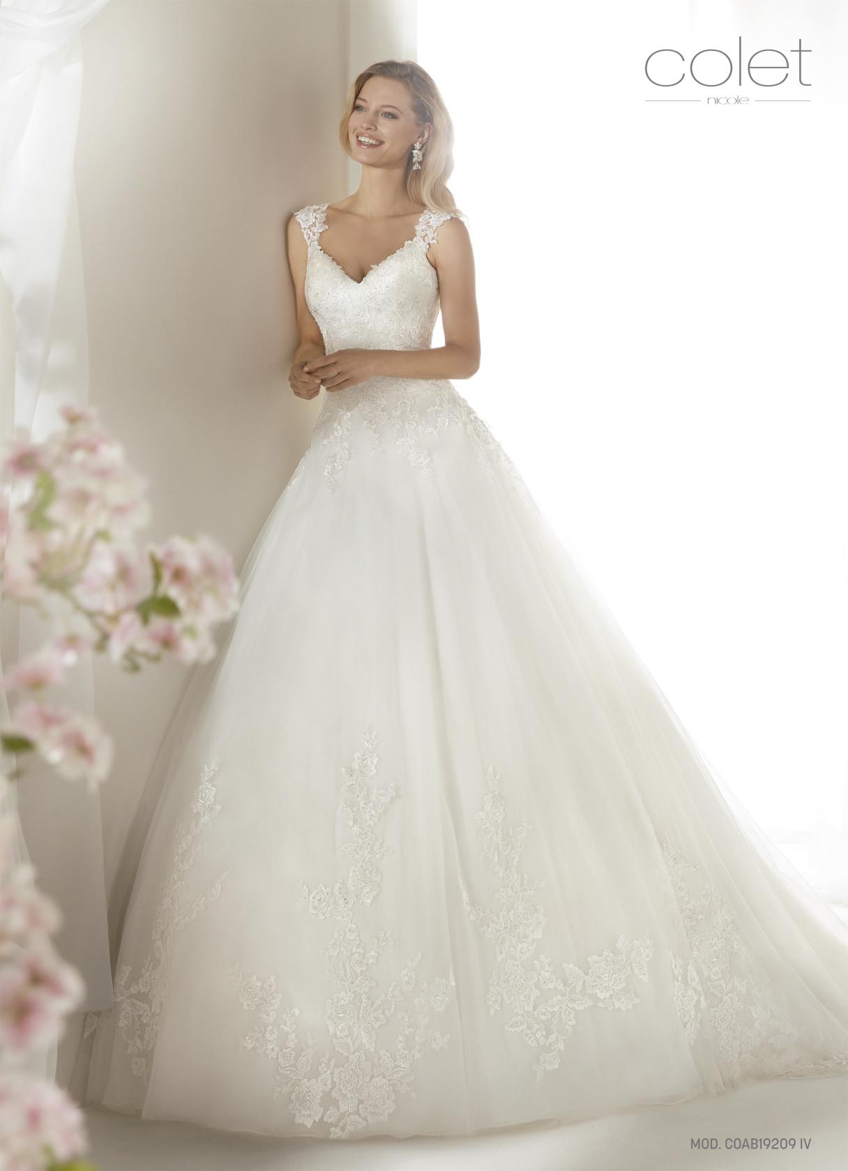 vestido de novia colet nicole