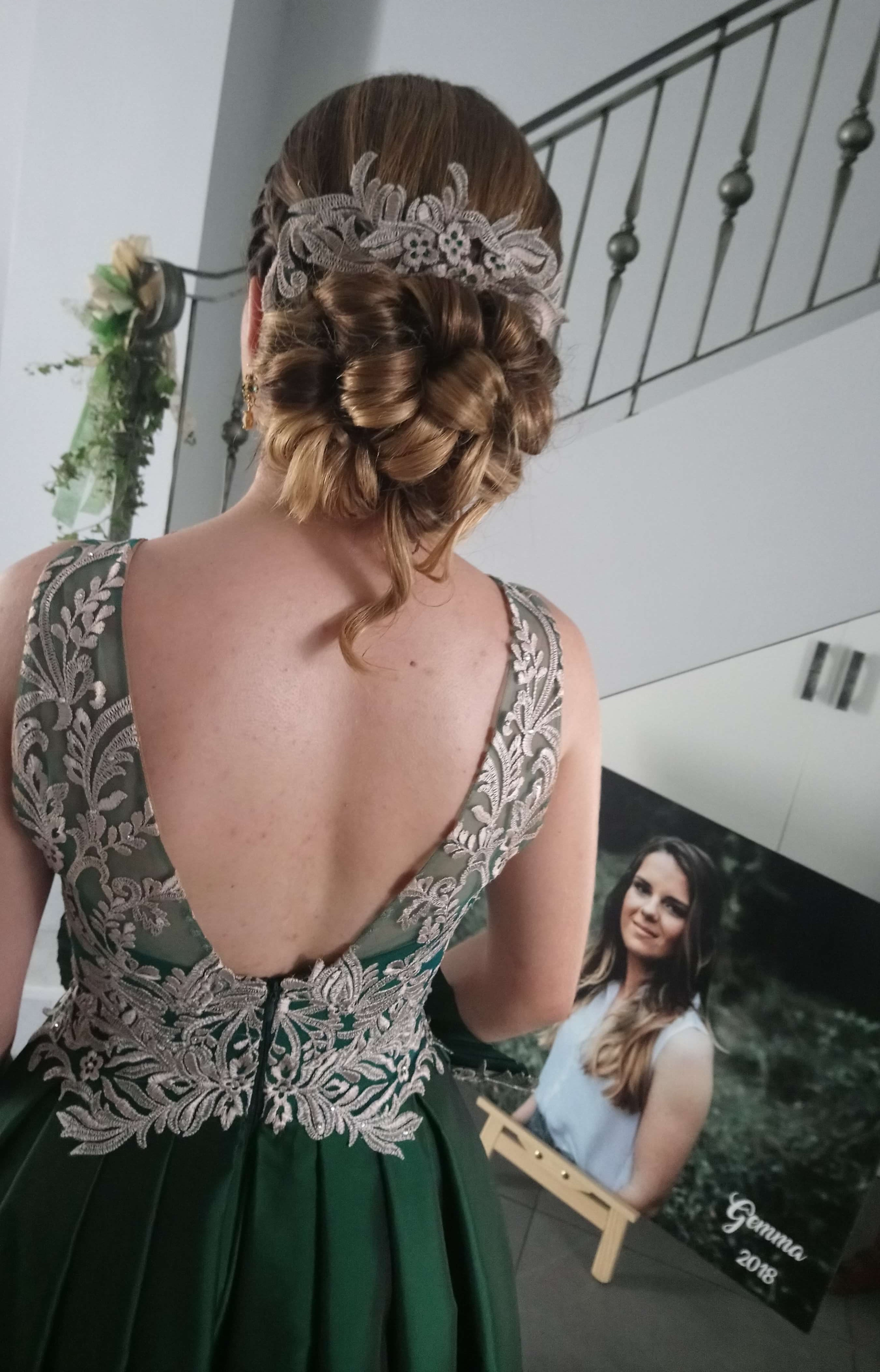 vestido de festera, dama
