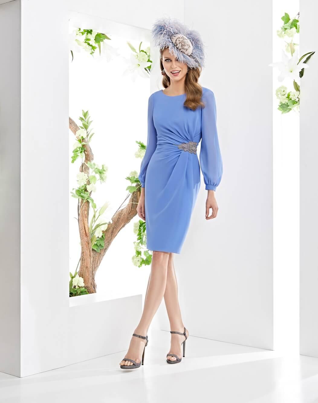 vestido corto raffaello
