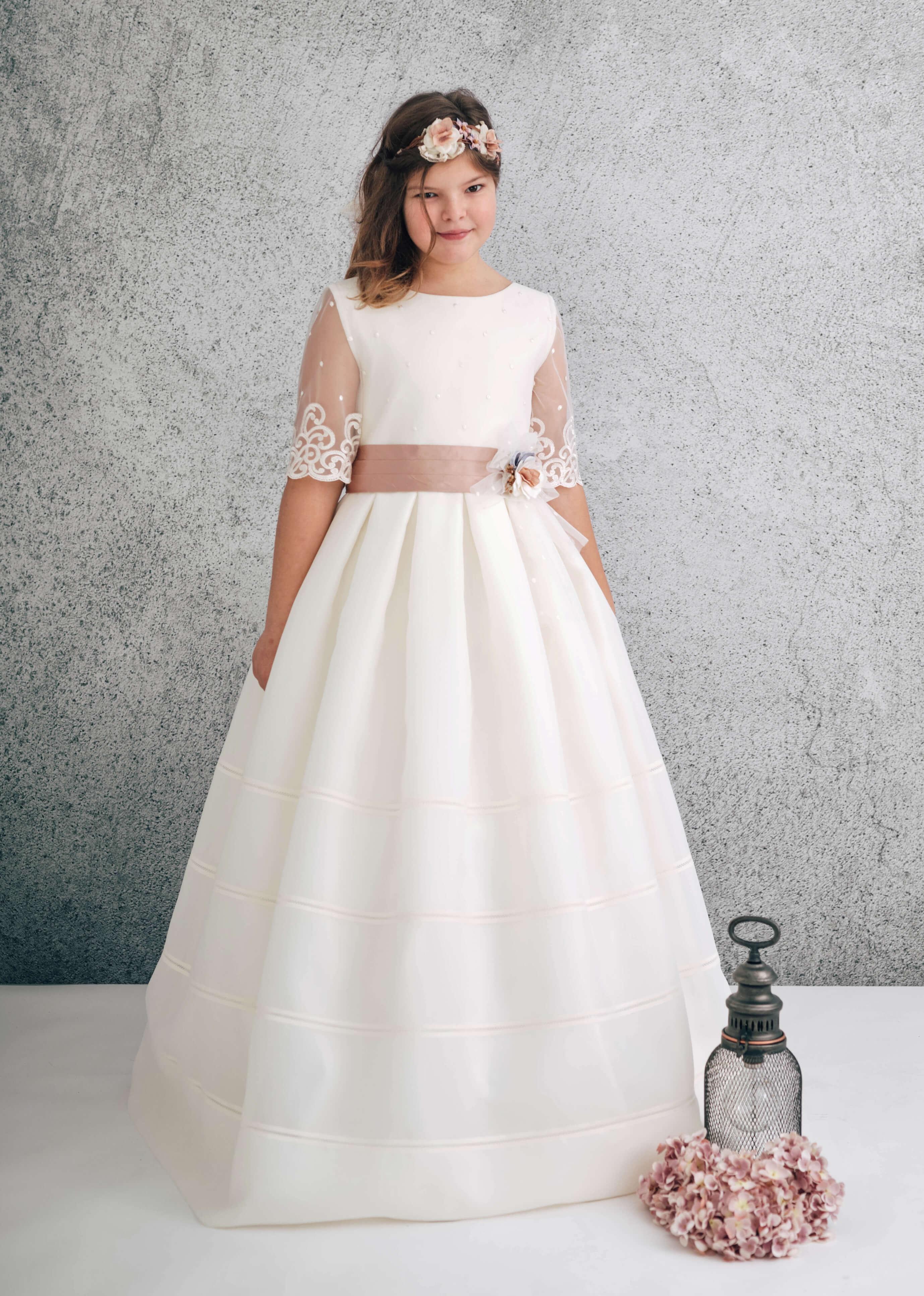 vestido comunión valdés pastor modelo 1852