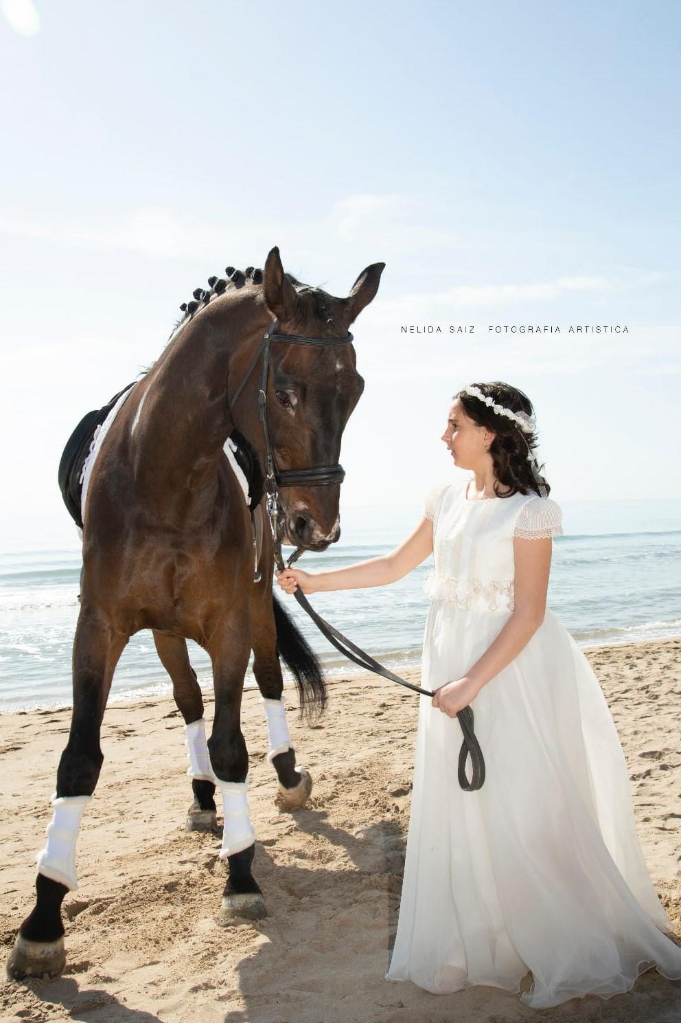 Comunion playa caballos