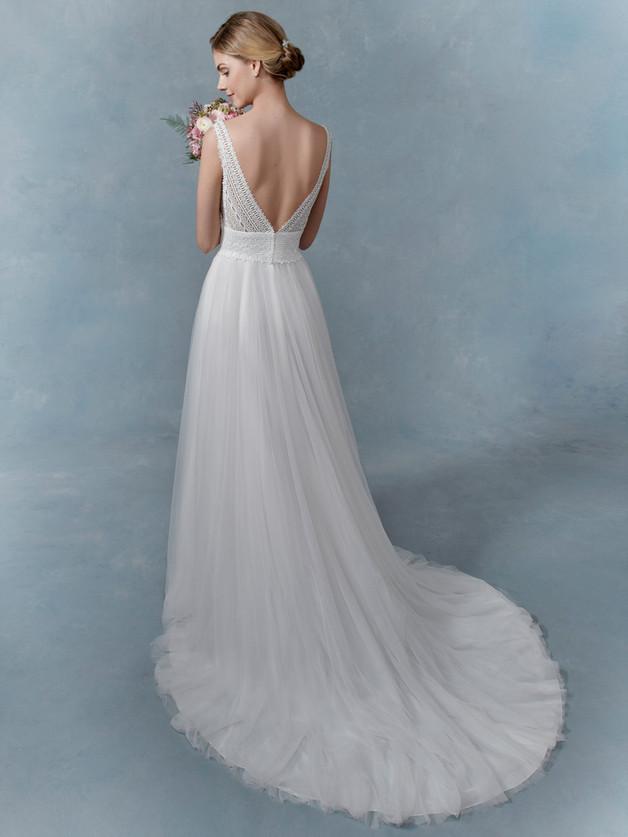 vestido de novia valdespastor
