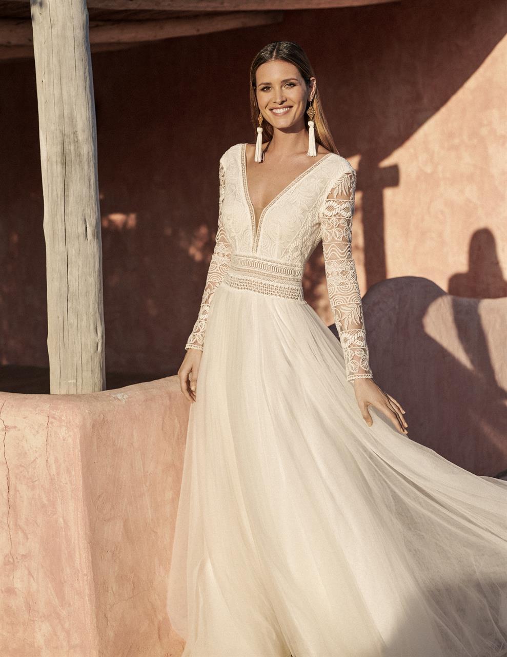 vestido de novia en valdes pastor beneixama