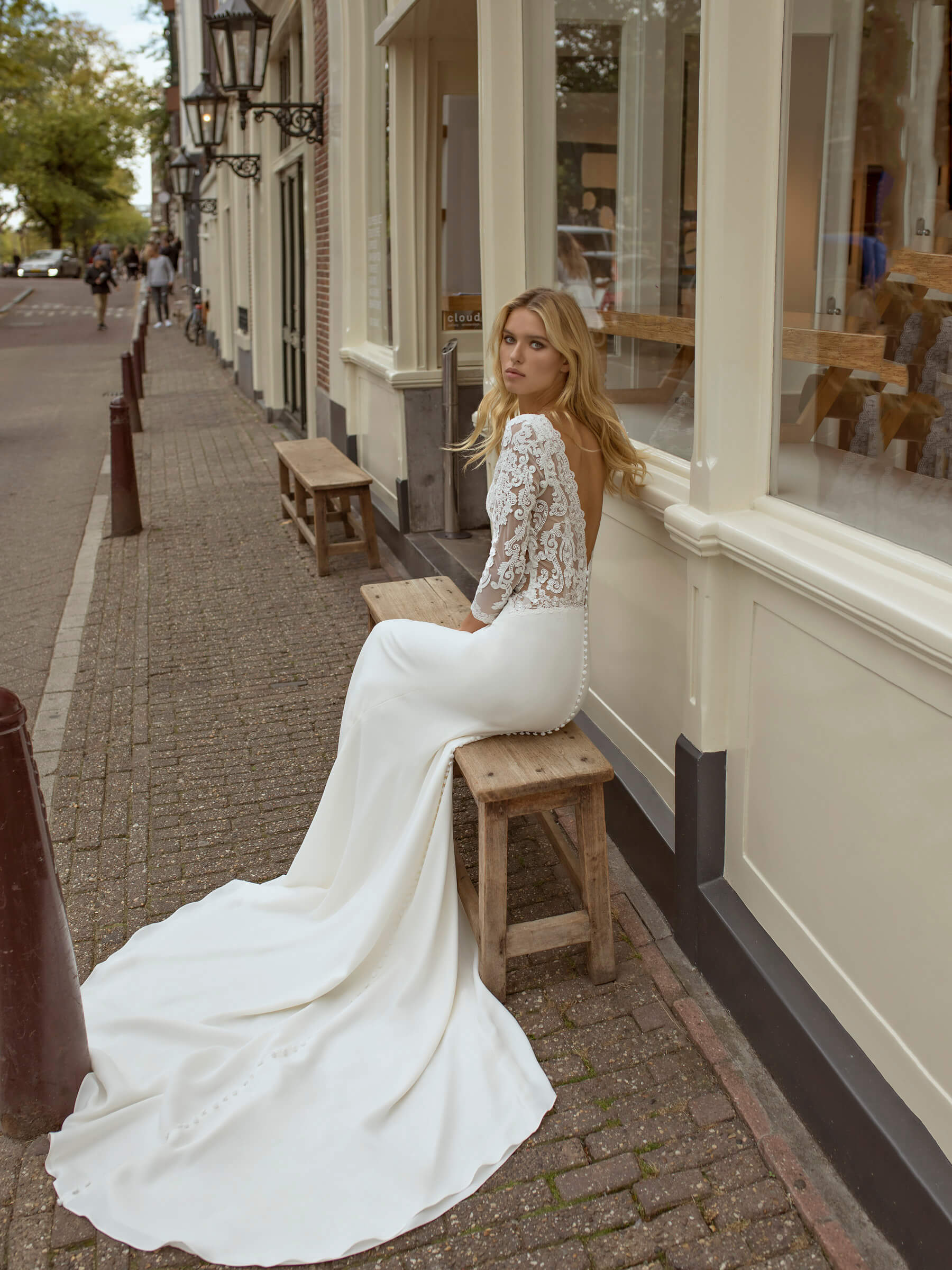 vestido de novia modeca