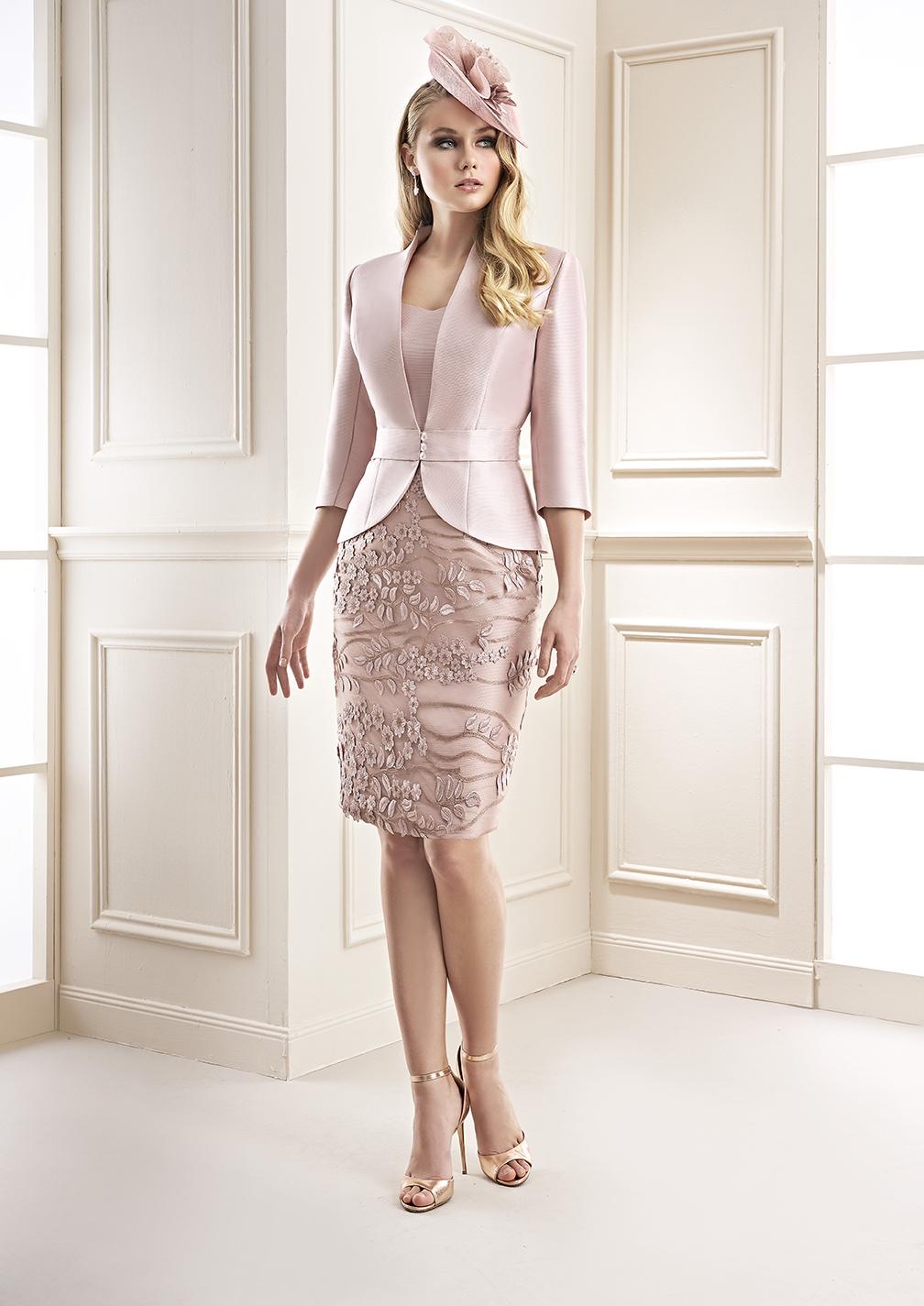 elegante vestido de madrina