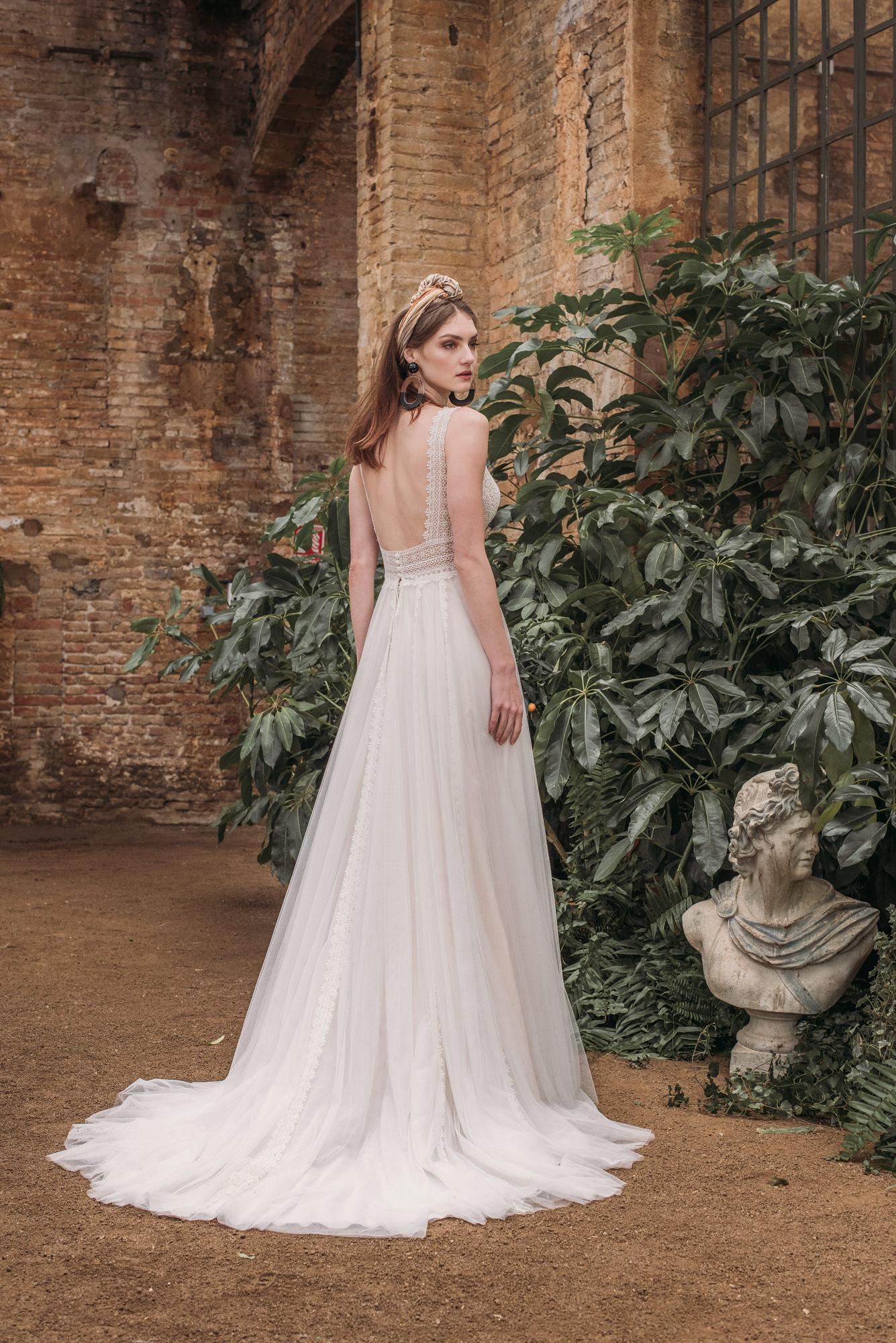 Vestido 5817 fara sposa