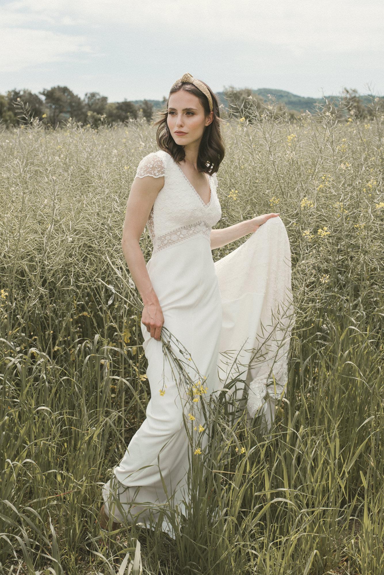 Vestido novia Ada de novia D´Art