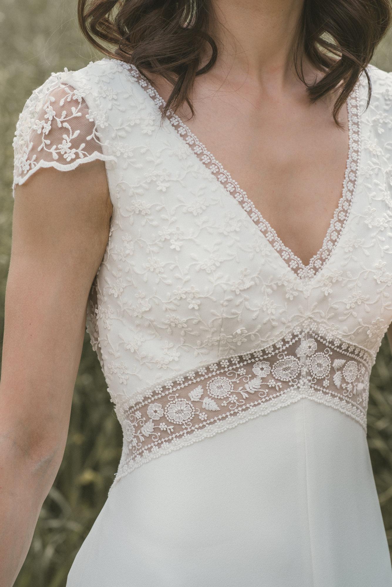 Vestido de novia Ada de Novia d´Art